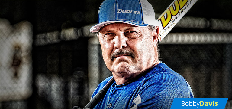 Bobby Davis Softball Player and Dudley® Sports Pro Team Member