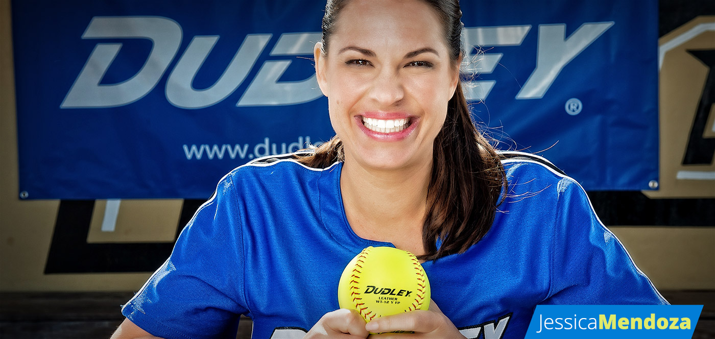 Jessica Mendoza Softball Player and Dudley® Sports Pro Team Member