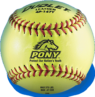 Dudley® Pony League Softball