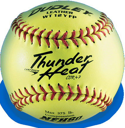 Dudley® Thunder Heat Trophy Sized Softball