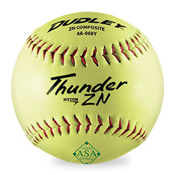 ASA® Thunder ZN Hycon Softball