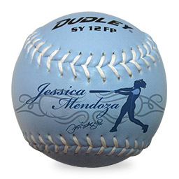 Jessica Mendoza Training Ball Signature Softball